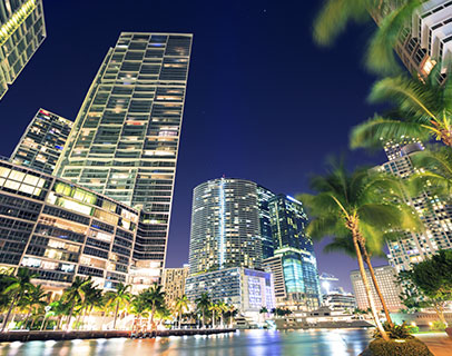 Scenic image of Miami/Dade, where KW provides Association Management Services