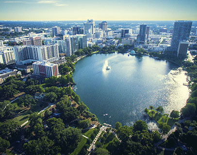 Scenic image of Orlando, where KW provides Association Management Services