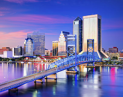 Scenic image of Jacksonville, where KW provides Association Management Services