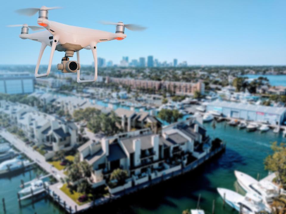 Association Usage Of Drones For Code Enforcement & Maintenance